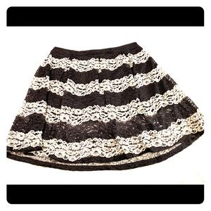 Who What Wear Plus Size Lace Skirt 24W